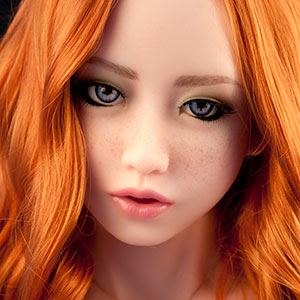 Gesicht Ella, Silikonpuppe
