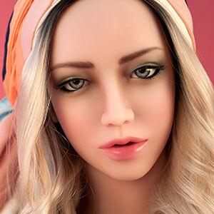 Gesicht Milla, Silikonpuppe