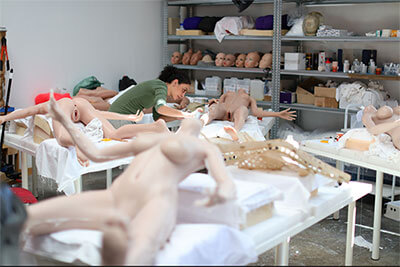 Unsere französische Puppenherstellung